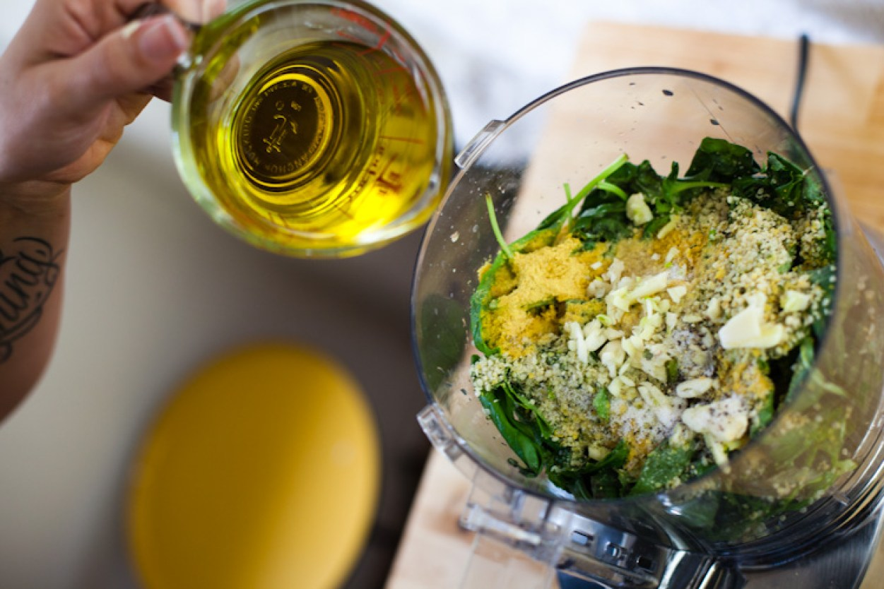 World's Best Vegan Pesto, ready in under five minutes