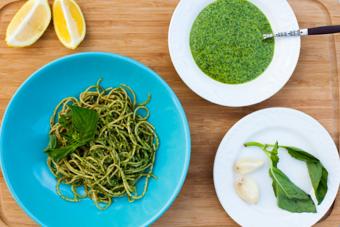 The best vegan pesto, ready in under five minutes