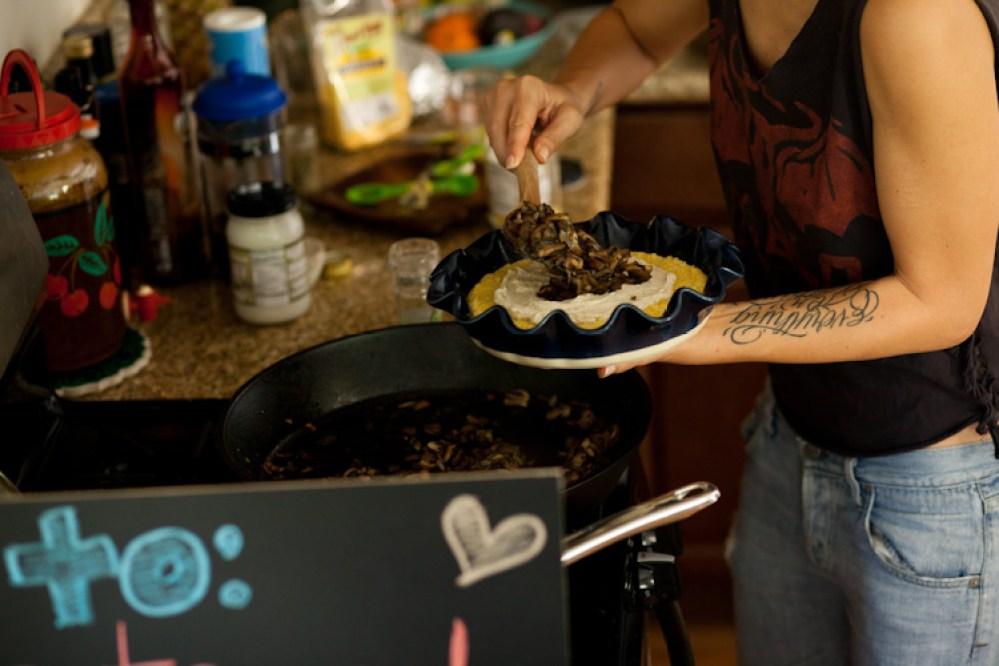Vegan Baked Polenta