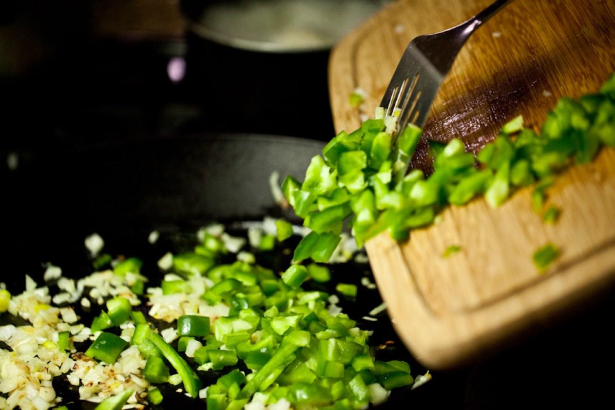 Vegan Green Enchiladas with Mexican Quinoa