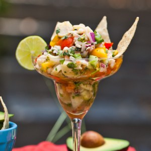vegan hearts of palm ceviche