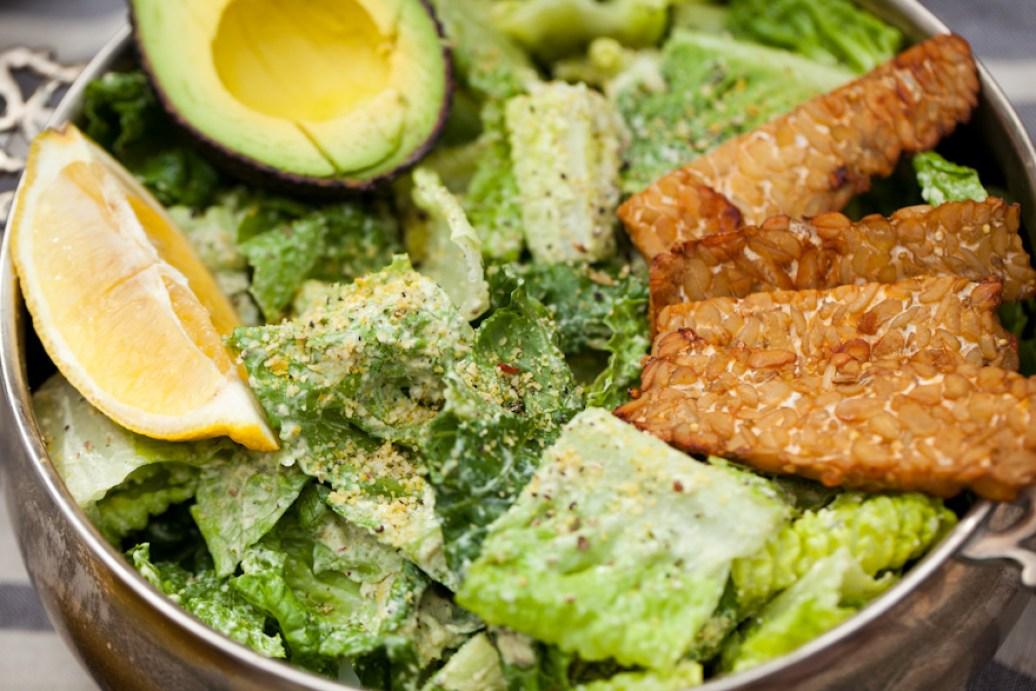 Vegan Caesar nut-free oil-free