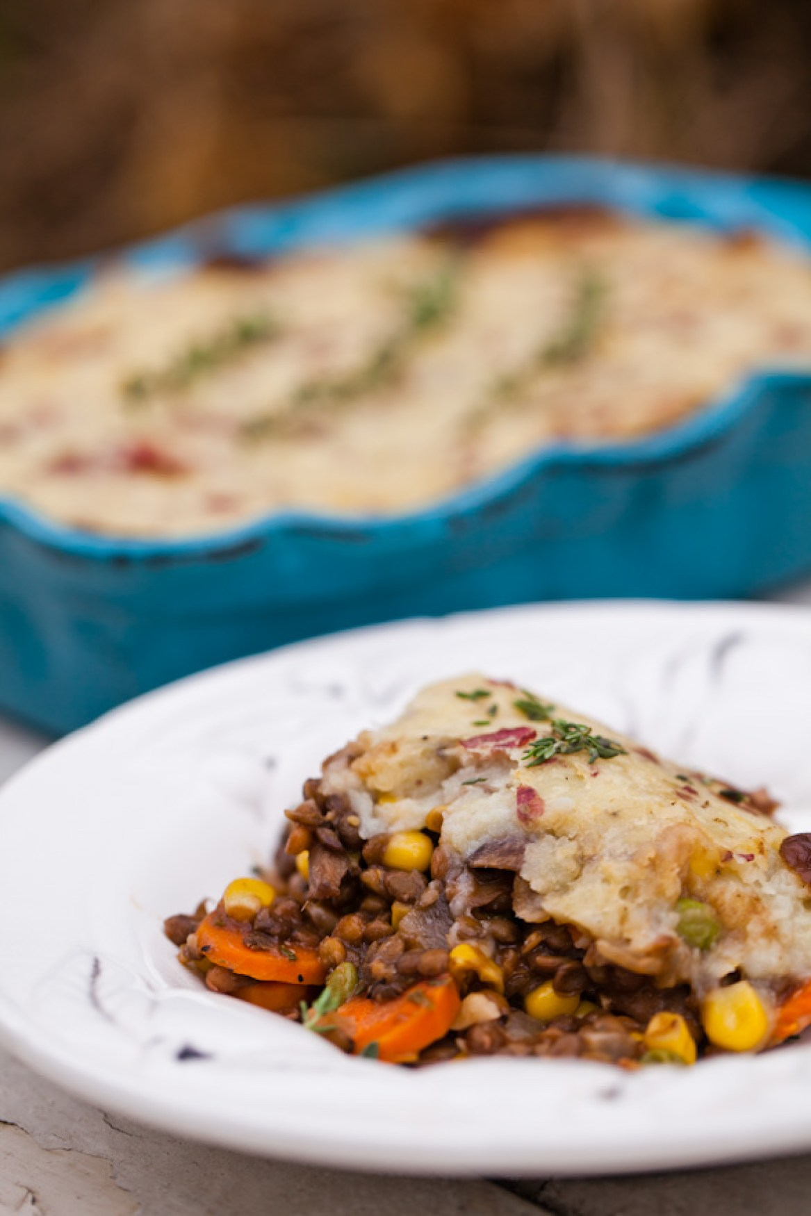 The ULTIMATE plant-based comfort food, Vegan Shepherd's Pie! Portobellos and Lentils with a rich red wine gravy | Easy vegan dinner recipe | Holiday dinner party recipe