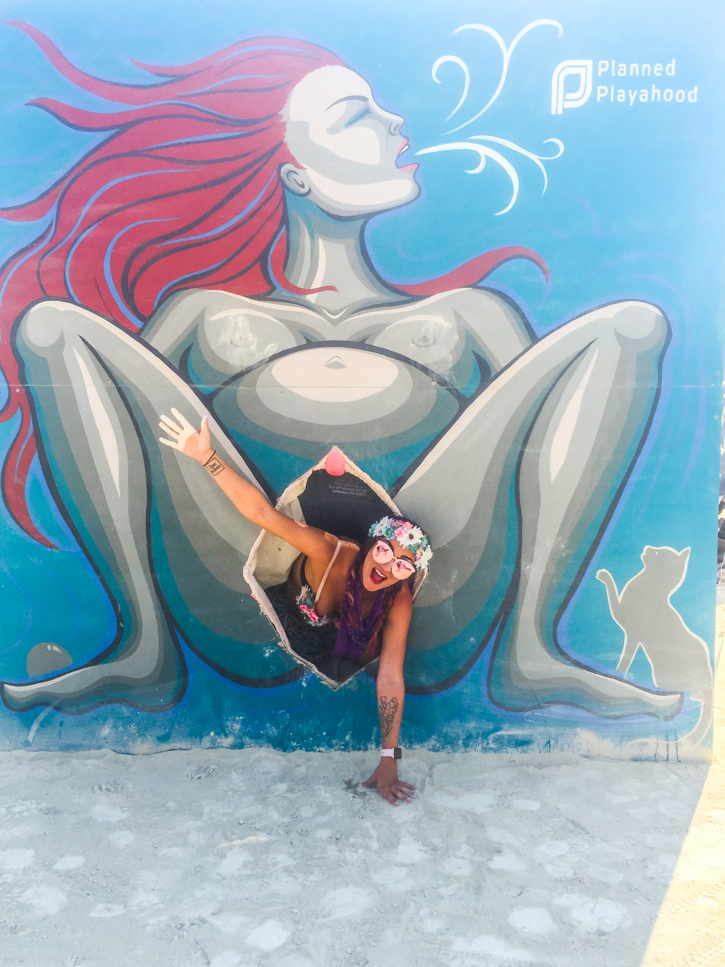 9 Months Pregnant at Burning Man- Birth Empowerment and Conscious Creating