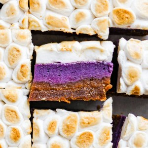 Vegan Sweet Potato Bars