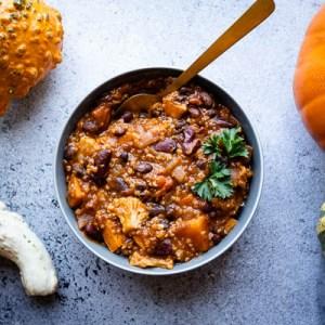 Vegan Harvest Chili | Trader Joe's Copycat Recipe | Healthy Meal Prep | Gluten-free