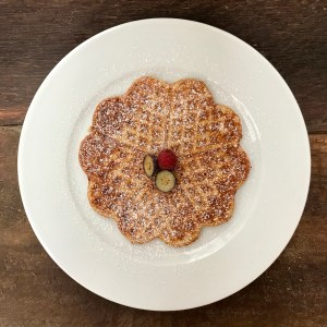 gluten-free sourdough waffles