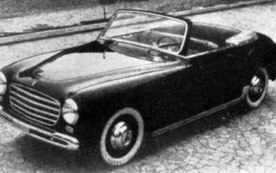 Fiat – 1100 Cabriolet Allemano