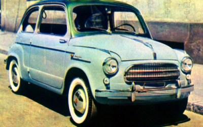 Fiat – 600 Allemano