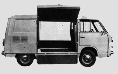 Fiat – 600 T Furgone Caprera