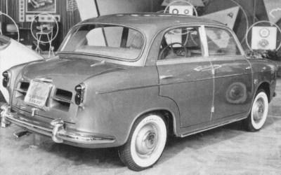 Fiat – 600 Berlina Frua