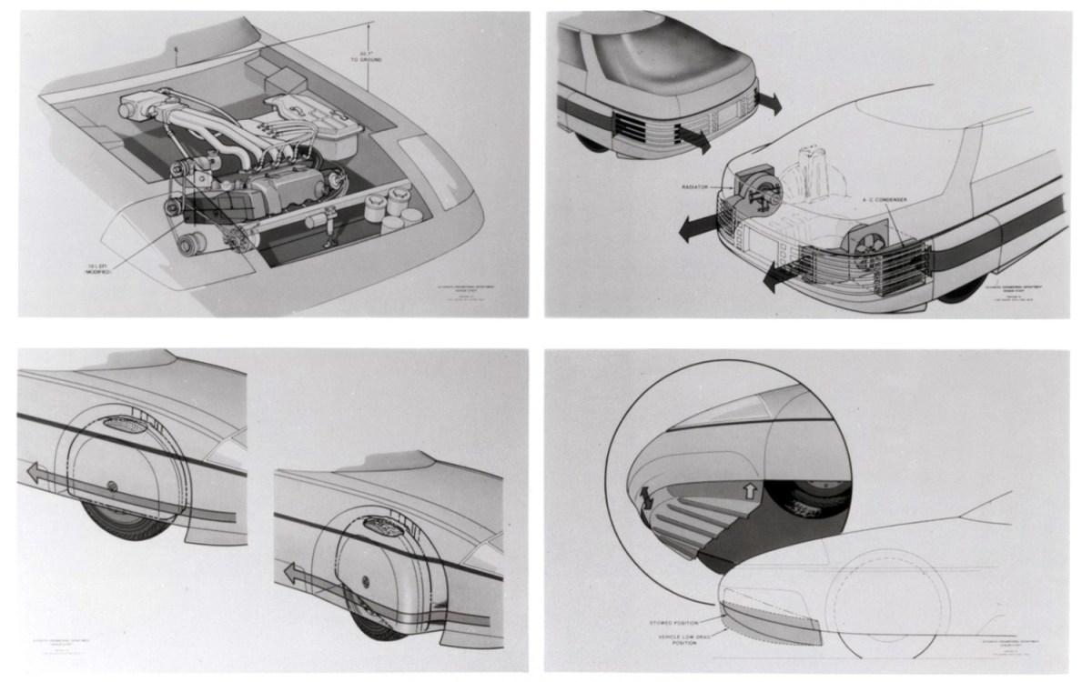 1983-Ford-Probe-IV-Aerodynamic-Innovations