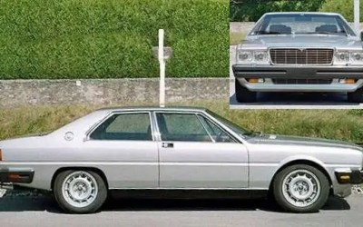 Maserati – Quattroporte III Coupé