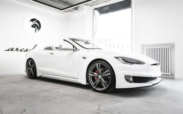 Ares Presents unique Tesla Model S Convertible Commission