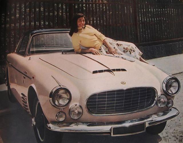 jaguar - xk140 allemano