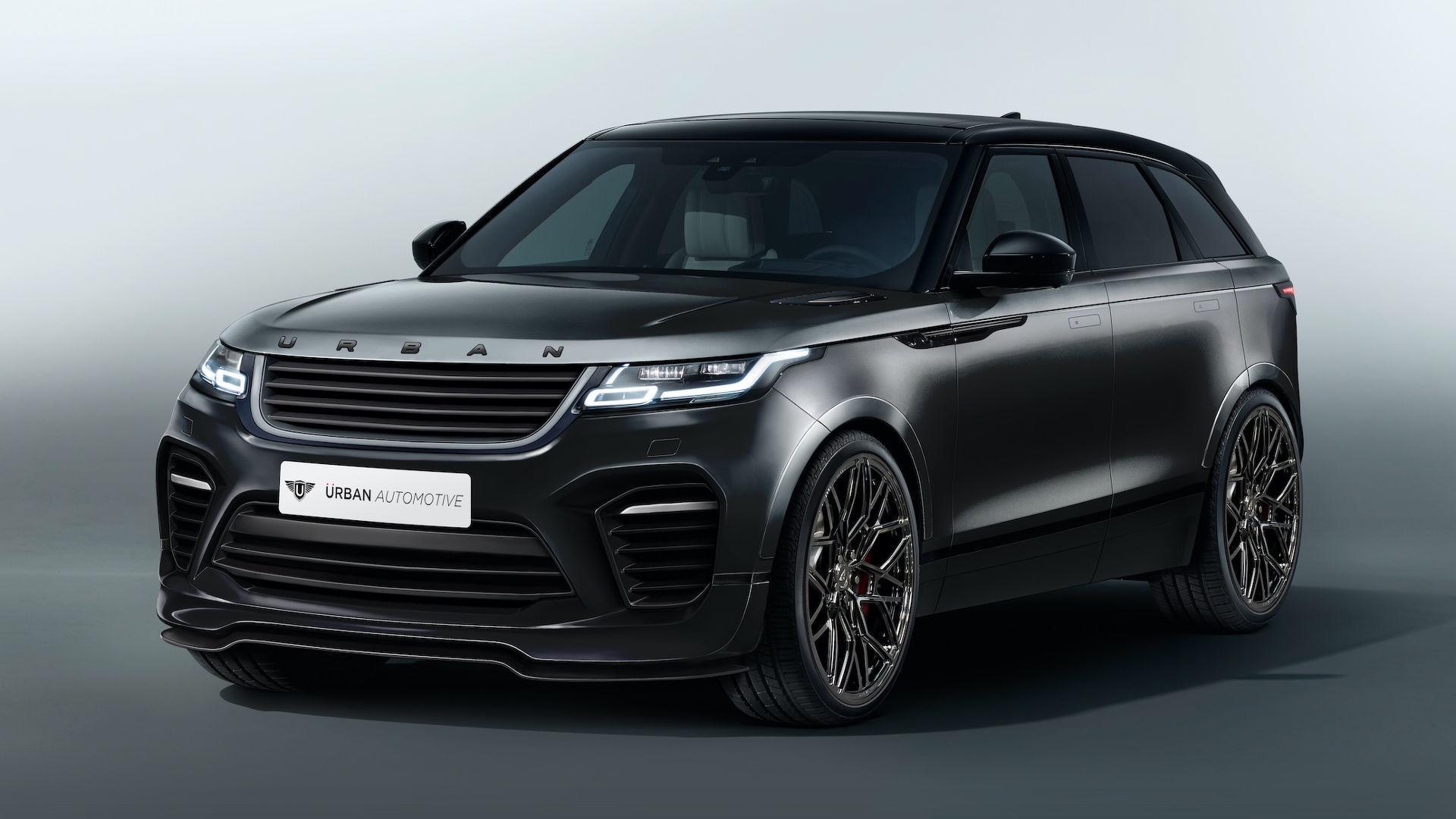 hight resolution of range rover velar modify by urban automotive