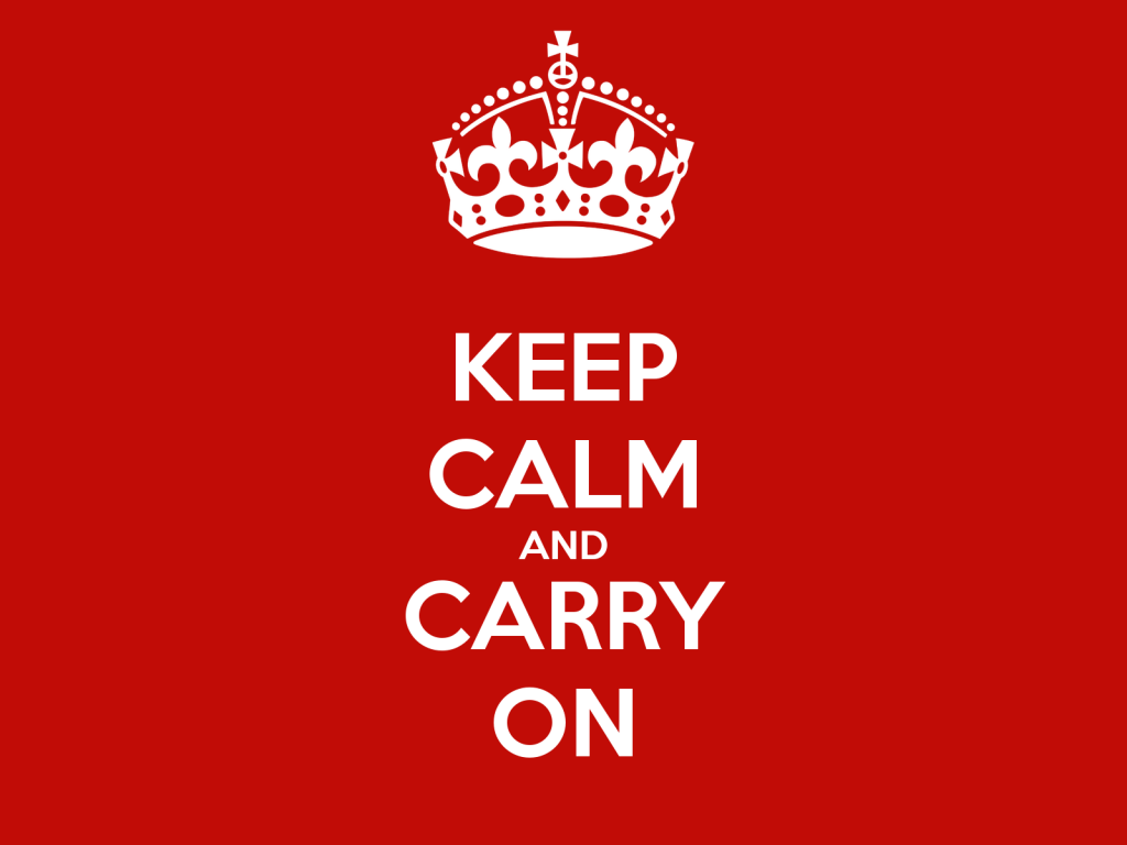 From Greg's Desk Keep Calm And Carry On Carr Wealth Management