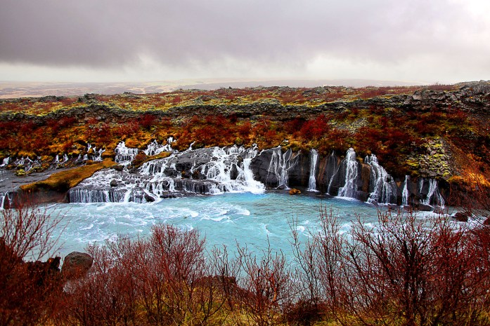 Hraunfossar In Iceland - Photo by Carry-On Traveler