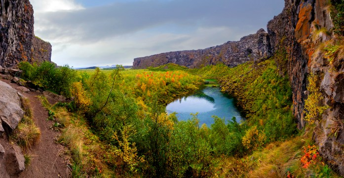 Asbyrgi Canyon in Iceland - Photo by Javier Rodrîguez