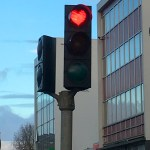 Akureyri Heart-Shaped Stop Lights