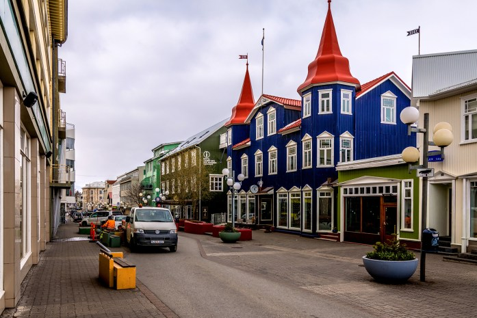 Akureyri in Iceland - Photo by dconvertini (Flickr)