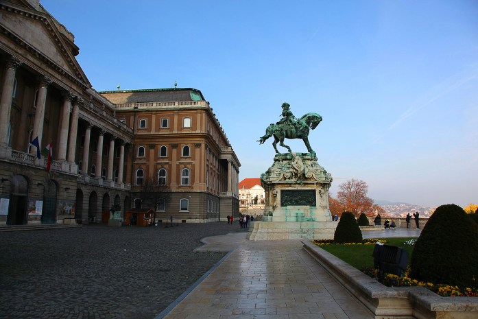 The Palace Atop Buda Castle Hill