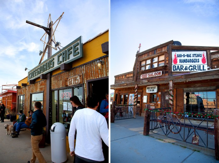 Crossroads Cafe and Joshua Tree Saloon - Joshua Tree California