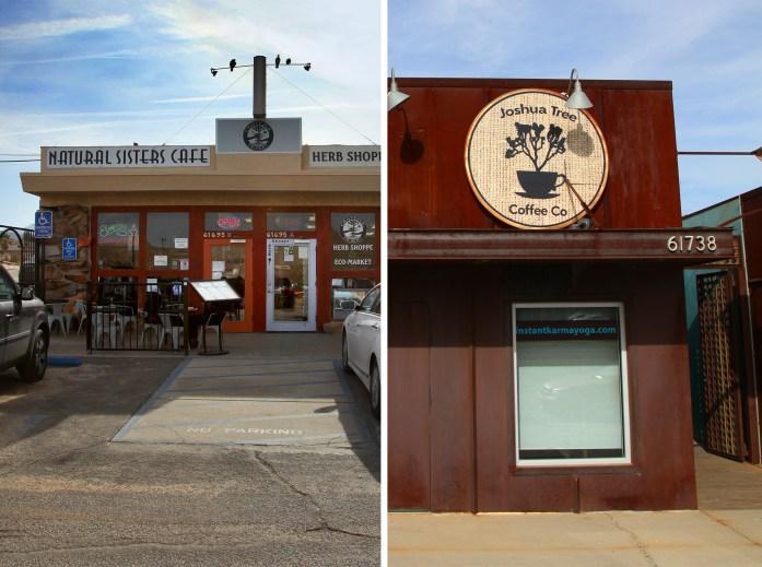 Restaurants in Joshua Tree California