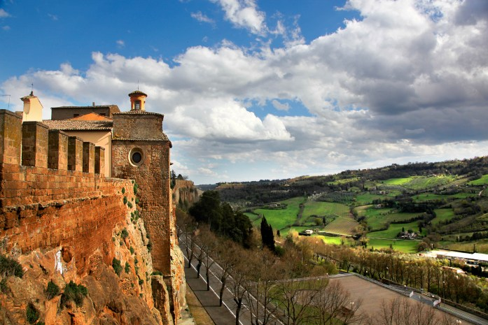 Dramatic view 3 in Orvieto, Italy