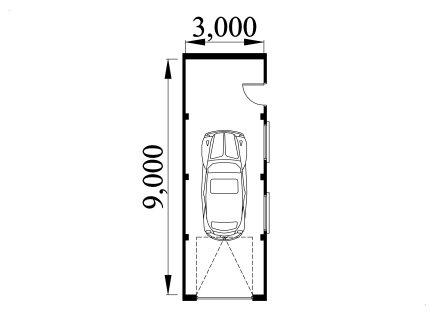Garage Plan Ref 3090AFSB
