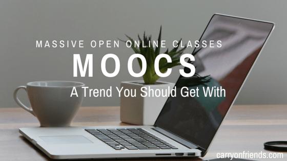 Laptop MOOCS massive open online classes