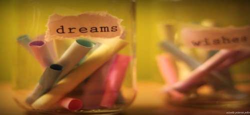 dreams and wishes in a jar