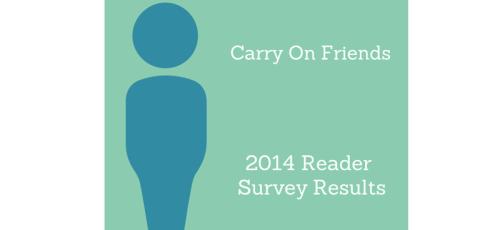 2014 reader survey results
