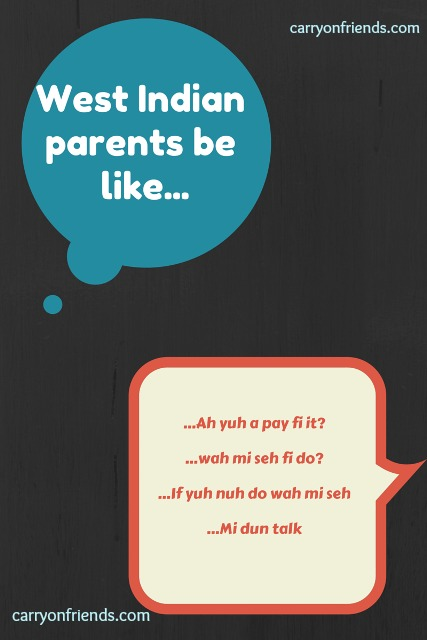 west indian parents warnings