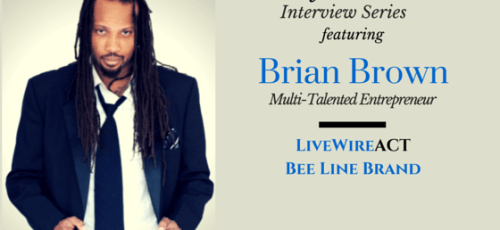Brian Brown LivewireAct Bee Line Brand