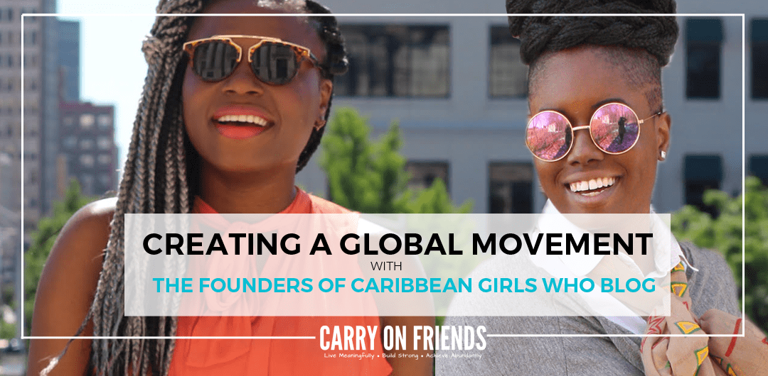 Nia Phillips and Tamara Holder founders of Caribbean Girls Who Blog