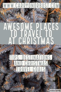 Travel to awesome places this christmas