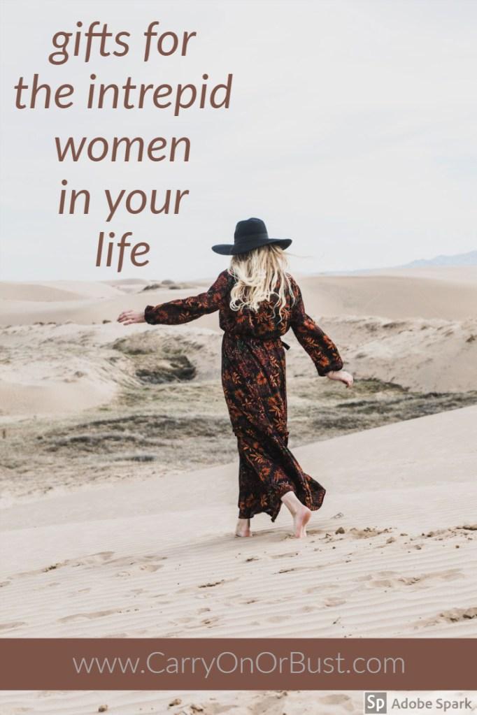 need a gift for the adventurous lady in your life? female traveler gifts for women who love travel