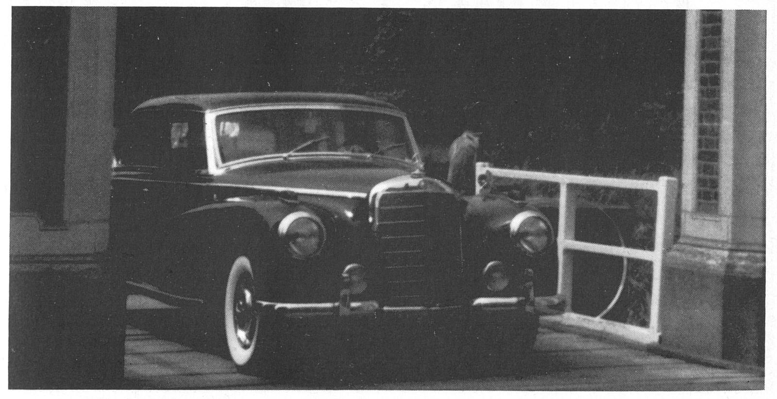 Startnummer 49 – Mercedes Benz 300 – 1951