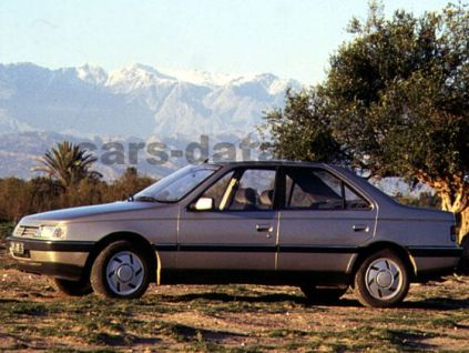 Peugeot 405 Pictures