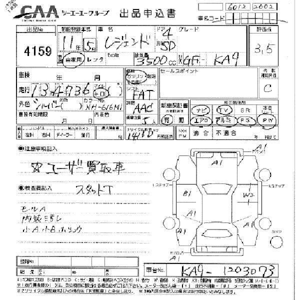 1999 Honda Legend Pictures, 3.5l., Gasoline, FF, Automatic