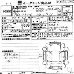 2005 Honda Stream Images