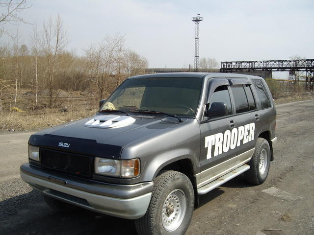 1992 Isuzu Trooper Cooling System