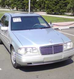 1995 mercedes benz c class pictures 2 0l gasoline fr or rr automatic for sale [ 1280 x 960 Pixel ]