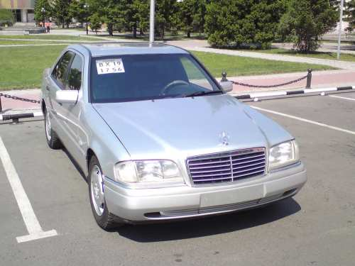 small resolution of 1995 mercedes benz c class pictures 2 0l gasoline fr or rr automatic for sale