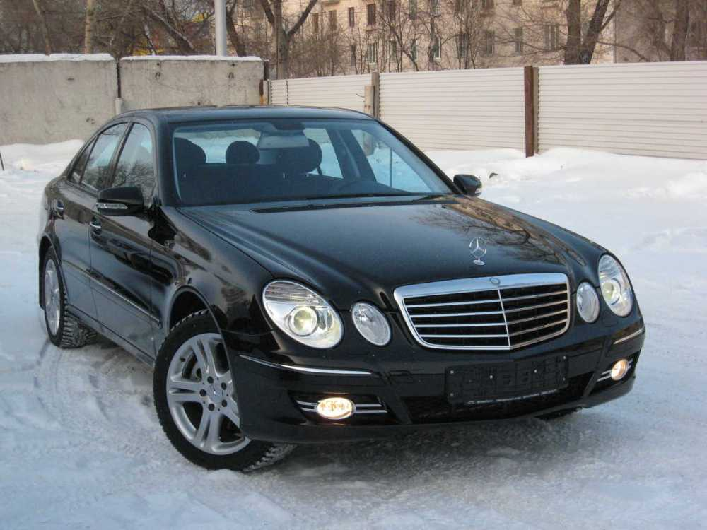 medium resolution of 2007 mercedes benz e class