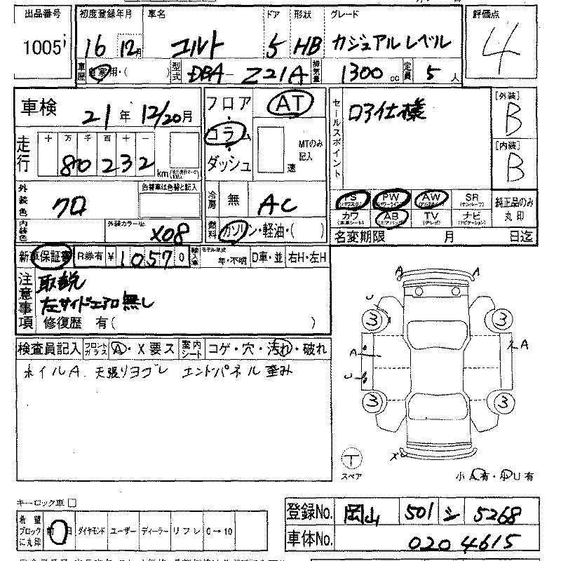 2004 Mitsubishi COLT specs, Engine size 1300cm3, Fuel type