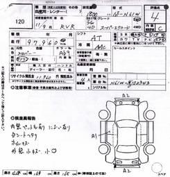 1999 Mitsubishi RVR For Sale, 1800cc., Gasoline, FF