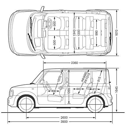 2004 Nissan CUBE Cubic Pics, 1.4, Gasoline, FF, CVT For Sale