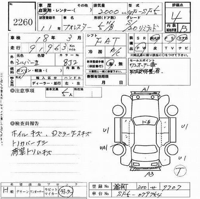 1999 Subaru Forester specs: mpg, towing capacity, size, photos